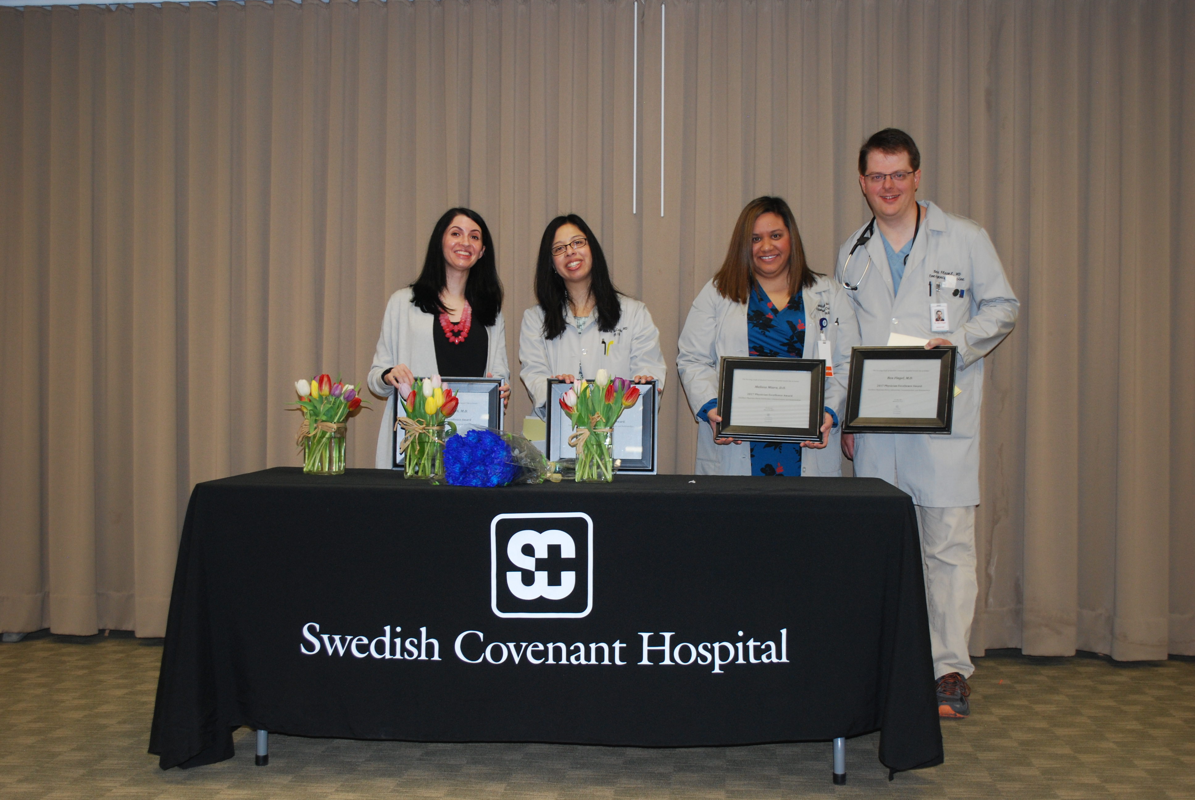 Physician Excellence Award Pic