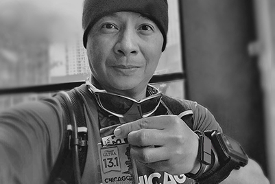 Ariel Bounces Back From Quintuple Coronary Artery Bypass Graft Surgery to Run Marathons
