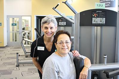 Lorraine Treats Degenerative Osteo-Arthritis With Personal Training