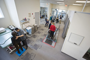 Outpatient Rehabilitation Therapy Environment