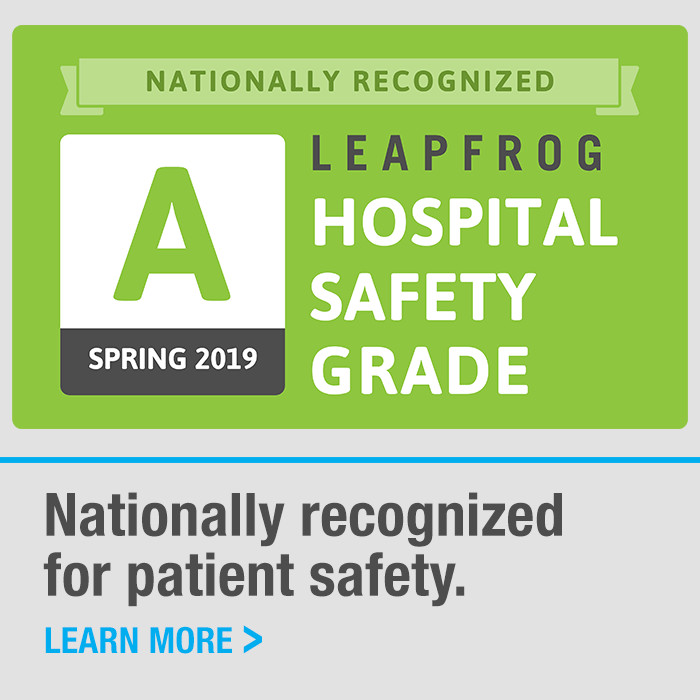 Leapfrog A Patient Safety Rating