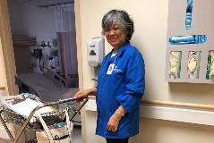 Volunteering at Swedish Hospital (3)