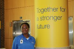 Volunteering at Swedish Hospital